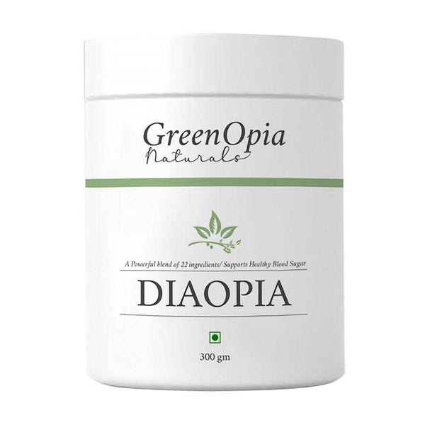 DiaOpia Diabetic Care Herbal Supplement - 300 grams - GreenOpia