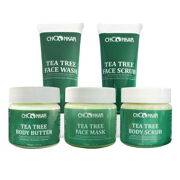 Tea Tree Face & Body Care Regime - GreenOpia