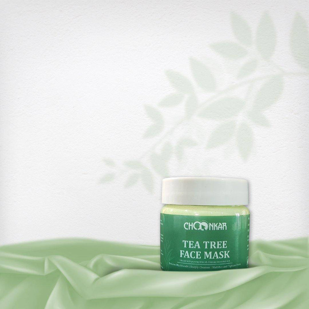 Tea Tree Face Mask - GreenOpia