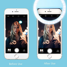 Load image into Gallery viewer, LED Selfie Ring Light - Mobile