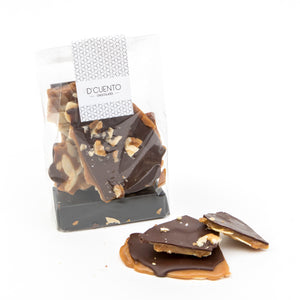 Tableta Toffee Crocante con Chocolate Bitter, 125g
