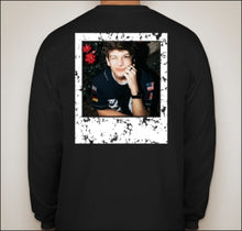 Load image into Gallery viewer, Nathan Triska Long Sleeve Shirt - Black w/Photo