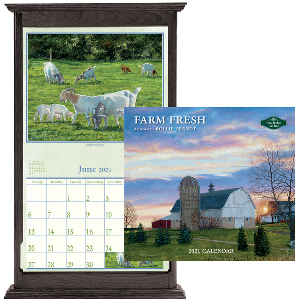 2021 CALENDAR FARM F(OFF SALE)