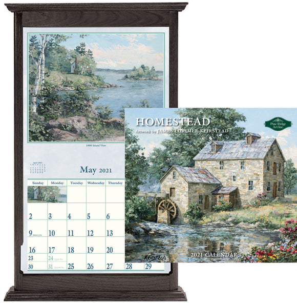2021 CALENDAR HOMEST(OFF SALE)