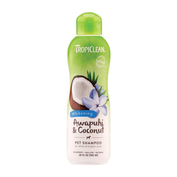 Tropiclean - Awapuhi & Coconut Whitening Shampoo for Pets (355ml)