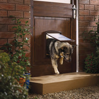 PetSafe - Staywell Original 2 Way Pet Door (Brown)