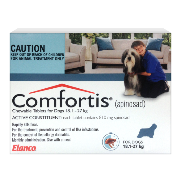 Comfortis Monthly Flea Prevention 18.1kg - 27kg