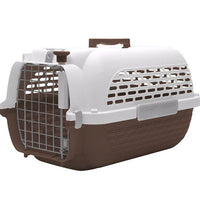 Dogit - Voyageur Dog Carrier (White & Grey)