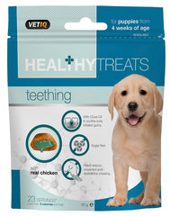 VETIQ - Healthy Bites - Teething Puppy Dog Treats - 50g