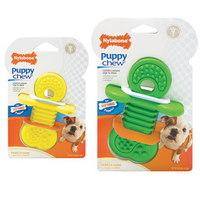 Nylabone - Puppy Chew Rubber Teether (Vanilla)