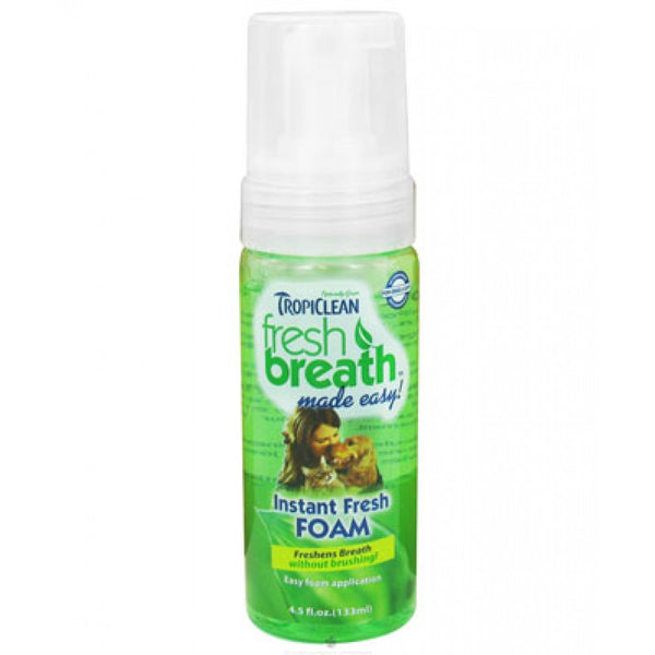TropiClean - Fresh Breath - Instant Fresh Foam (133ml)