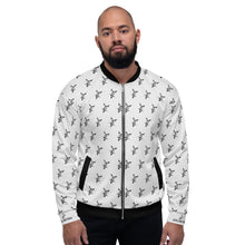 Load image into Gallery viewer, White Bomber Jacket