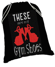 Load image into Gallery viewer, Gym Shoes shoe sack - pleaser shoe bag