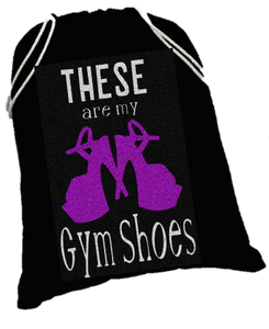 Gym Shoes shoe sack - pleaser shoe bag