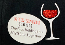 Load image into Gallery viewer, Red wine reusable, reversible, washable comfortable breathable mask
