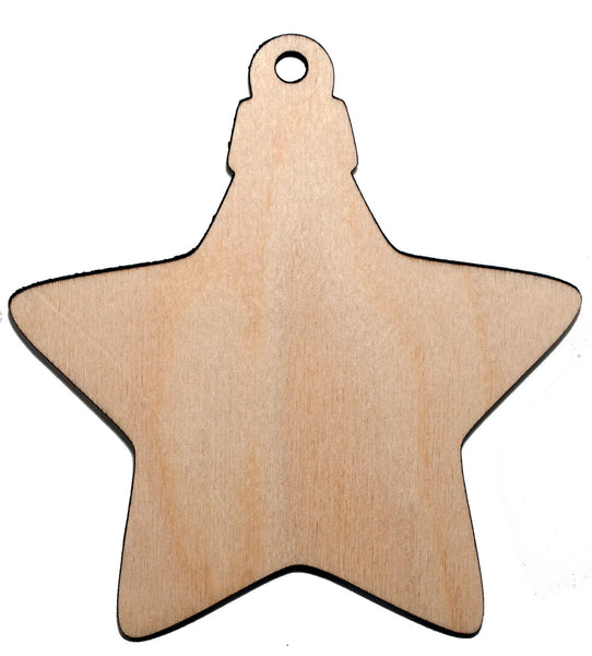 Basic shape 6 Christmas Ornament - Bucktooth Designs
