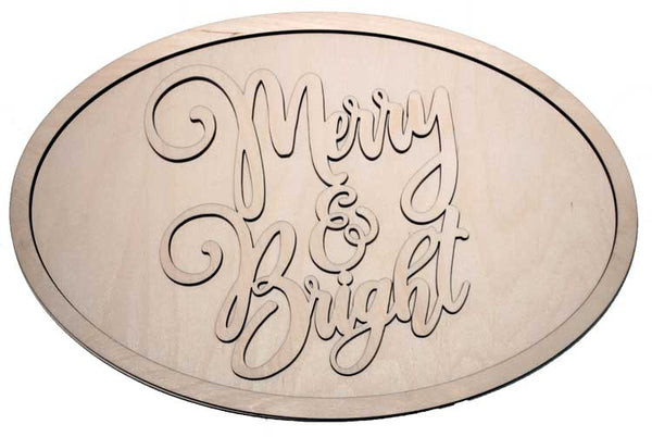 Merry and Bright 2 - oval package