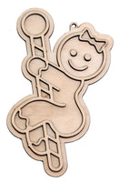 """Pole Dancer"" Naughty Ornament - Bucktooth Designs"