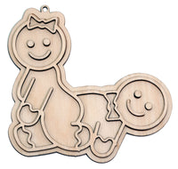 """Reverse Cowgirl"" Naughty Ornament - Bucktooth Designs"