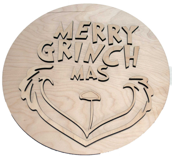 Merry Grichmas Round Package - Bucktooth Designs