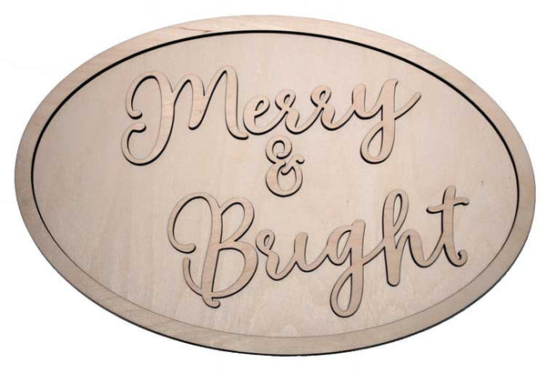 Merry & Bright - Oval Package