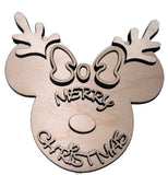 female mouse inspired reindeer - Bucktooth Designs