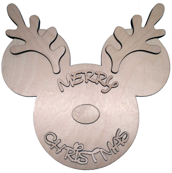 mouse inspired reindeer - Bucktooth Designs