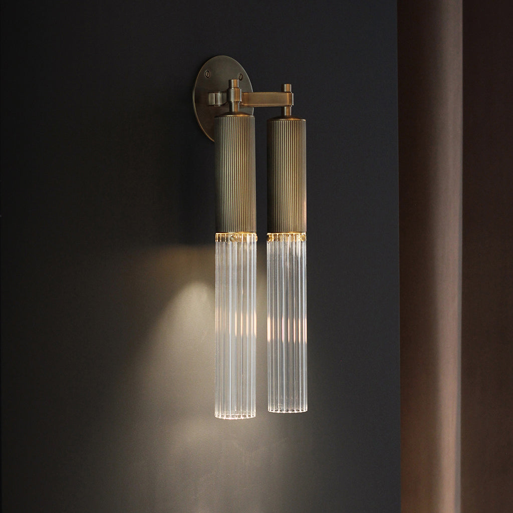 Flume Double Wall Light