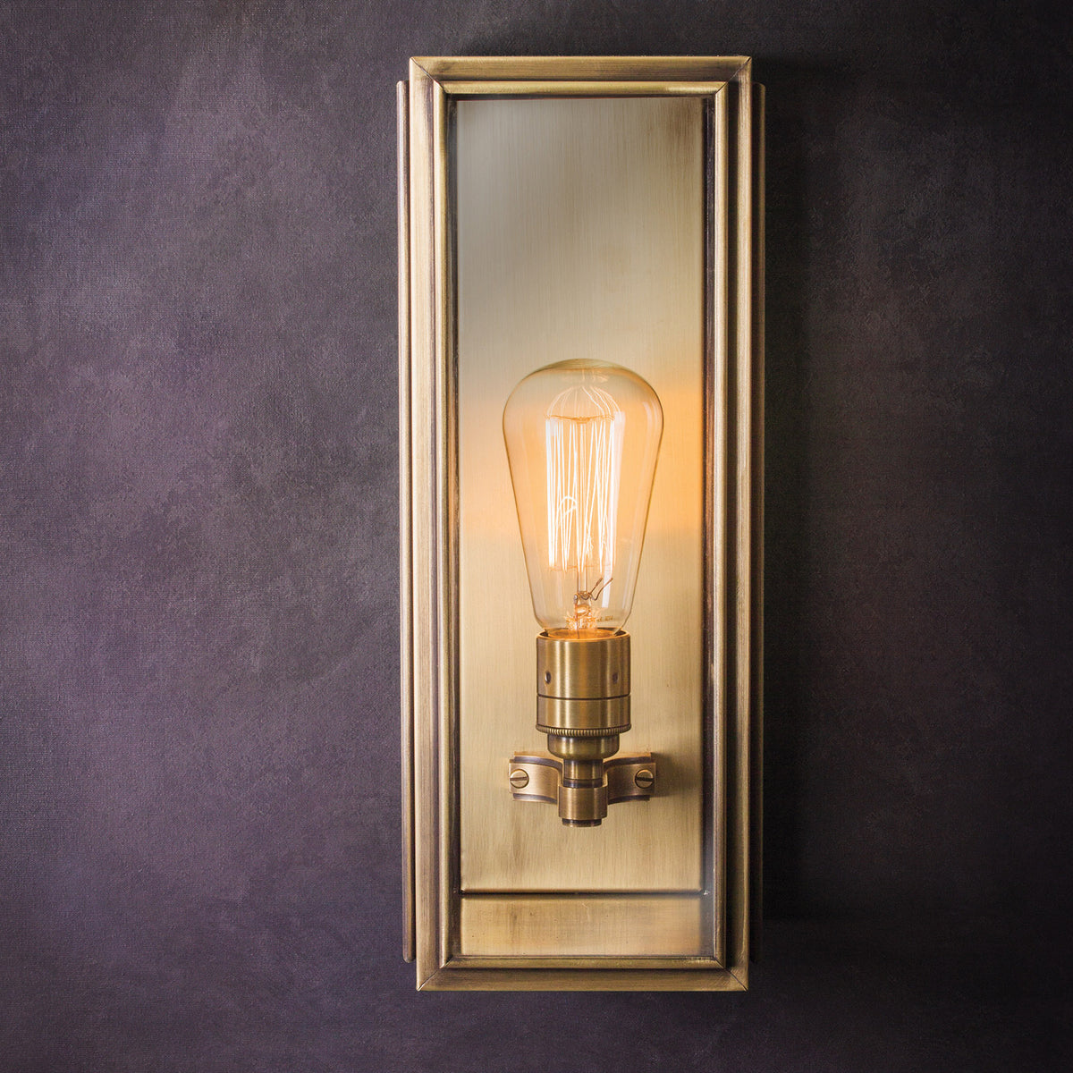 Ash Wall Lantern Light - Medium