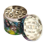 Rick and Morty Four Layer Grinder
