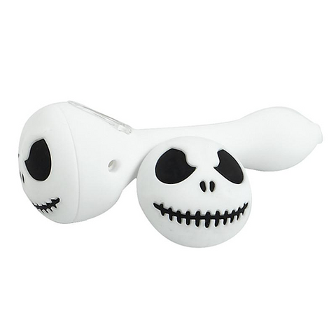 Halloween Skull Silicone Pipe