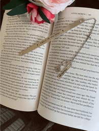 Baptism gift bookmark, First communion gift, religious bookmark