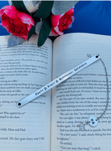 "Bears, Beets, Battlestar Galactica Bookmark, Personalized ""The Office"" bookmark"