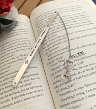 Metal Bookmark Custom Graduation gift,