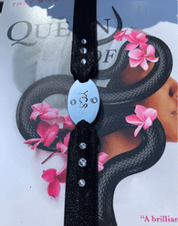 Personalized Stretchable Bookmark with Initials, Reading Gift, ELastic Bookmark