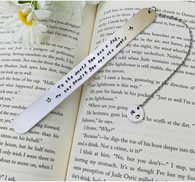 Dad bookmark, Custom Dad Gift, Father's Day gift, Personalized Gift for Him