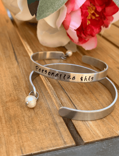 Quote Cuff Bracelet Personalized , Name Bracelet, Friendship Bracelet, Custom Cuff Bracele