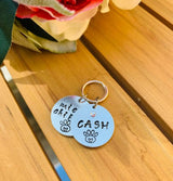 Small pet collar tag, cat Name Tag, Custom dog Tag