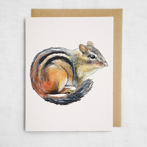 Chipmunk Card