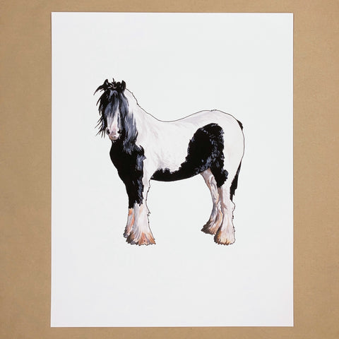 Clydesdale Horse Print