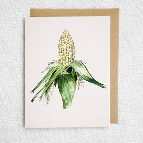 Corn Cob Card