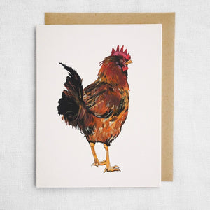 Red Rooster Card