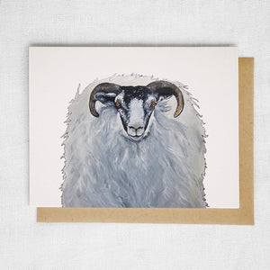 Horned Sheep Card