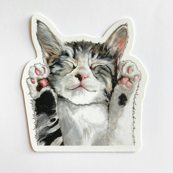 Kitty Cat Sticker