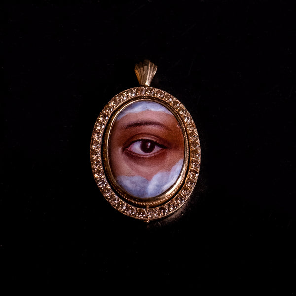 The Lover's Eye Diamond Pendant