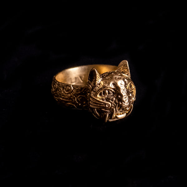 Imperial Leopard Ring