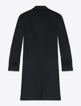 BLACK VICTOR CASHMERE COAT