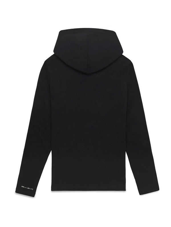 ASAUVAGE Long hooded T-shirt