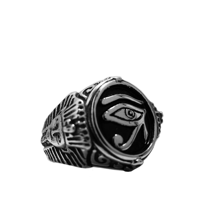 ALL SEEING EYE OF HORUS RING