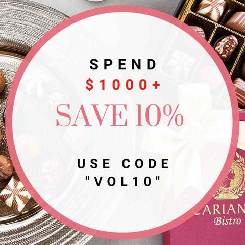 corporate gifts get 10% discount carian's bistr0